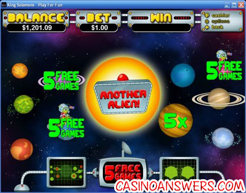 outta this world video slot