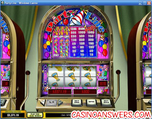 party line classic slot playtech