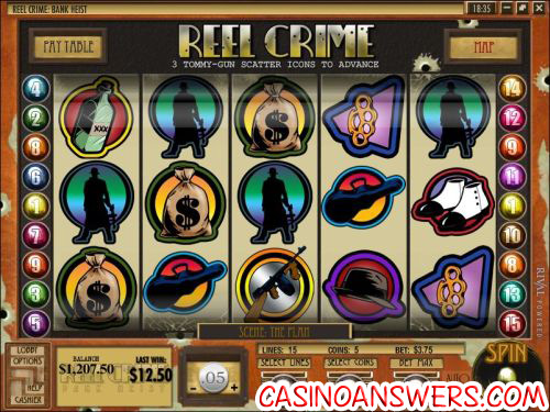 Reel Heist Slot Machine - Available Online for Free or Real