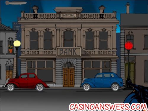reel crime bank heist interactive slot