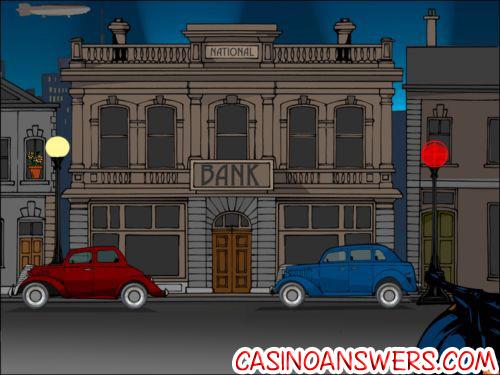 reel crime bank heist interactive slot
