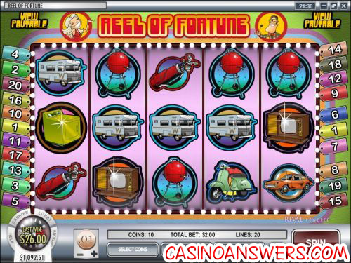 reel of fortune video slot
