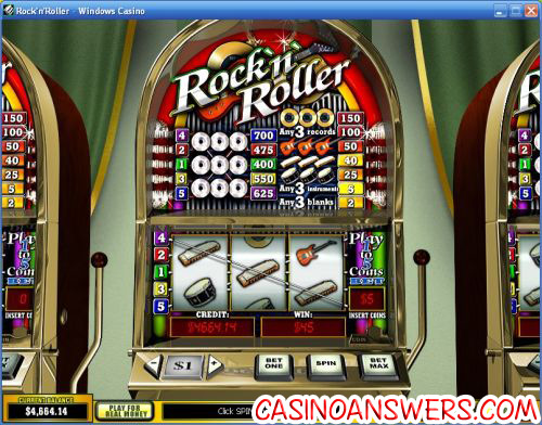 rock n roller playtech slot