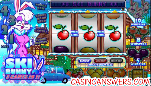 ski bunny fruit machine