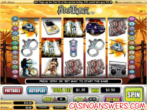 big time video slot