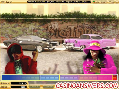 big time video slot bonus game