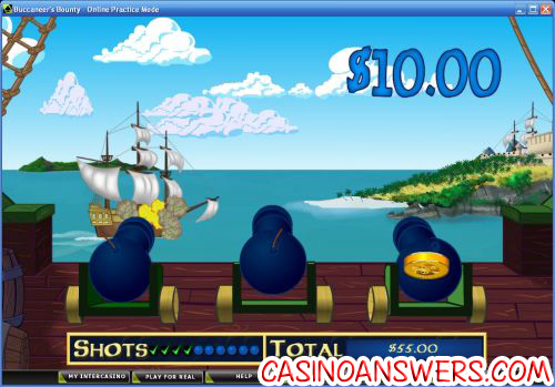 buccaneers bounty flash game