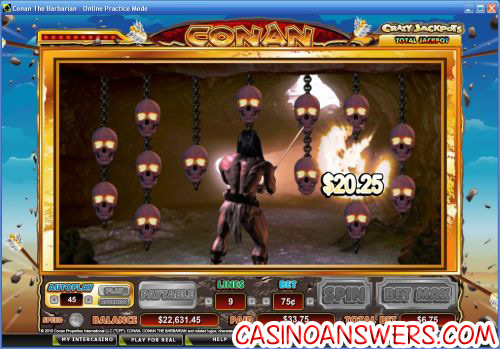 conan the barbarian casino flash game