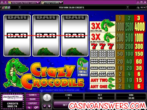 crazy crocodile microgaming