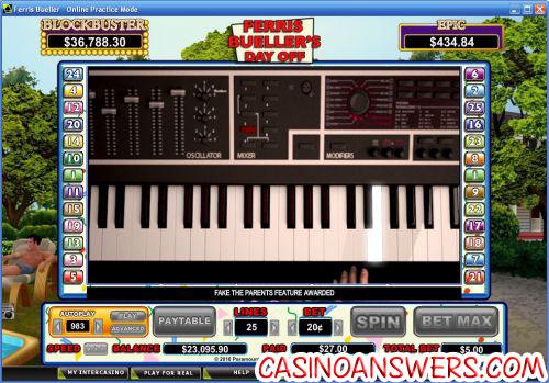 ferris bueller casino game
