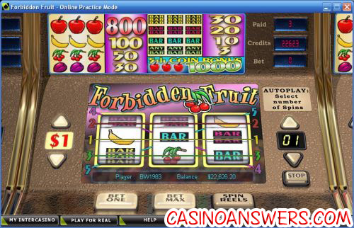 Forbidden Fruit™ Slot Machine Game to Play Free in Cryptologics Online Casinos