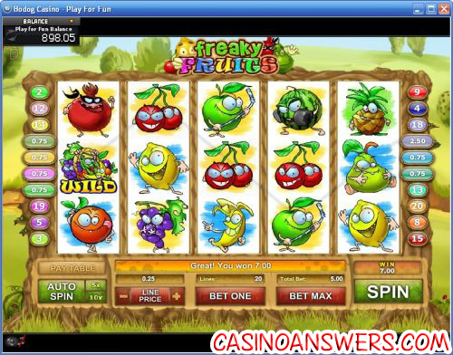 freaky fruits ctxm video slot