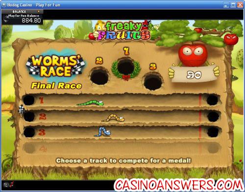 freaky fruits bonus game