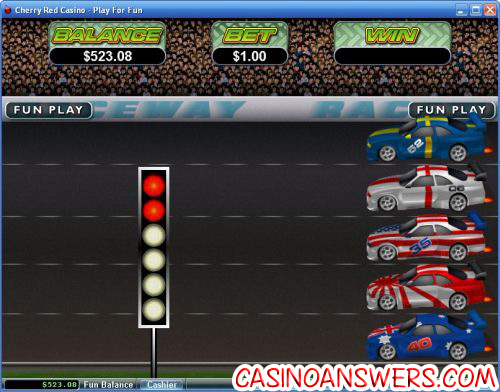 green light slot flash game