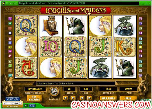 knights and maidens random logic