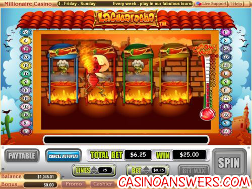 la cucaracha video slot
