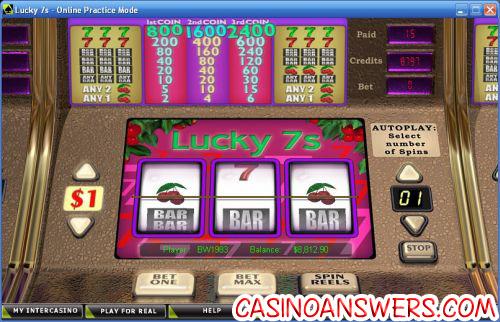 lucky 7s crypto classic slot
