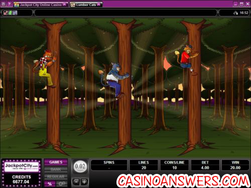 lumber cats casino flash game