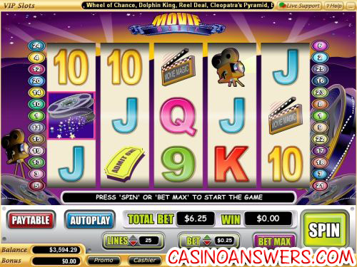 movie magic vegas tech video slot