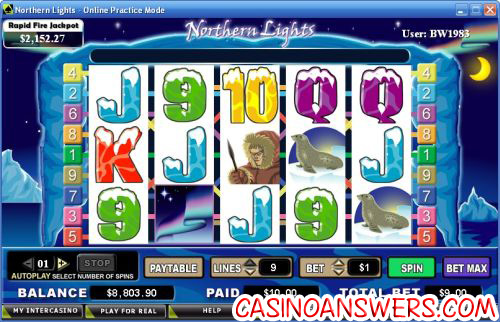 northern lights video slot