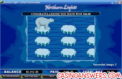 northern lights slot bonus game