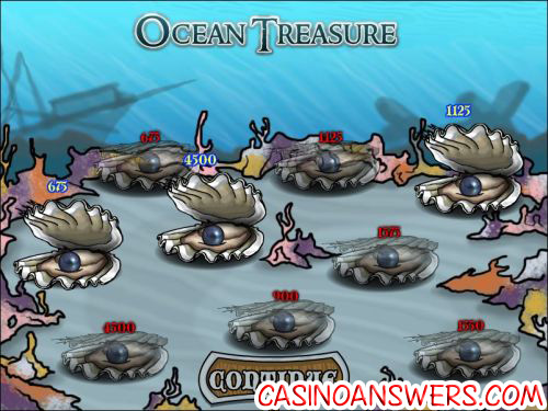 ocean treasure bonus game slot