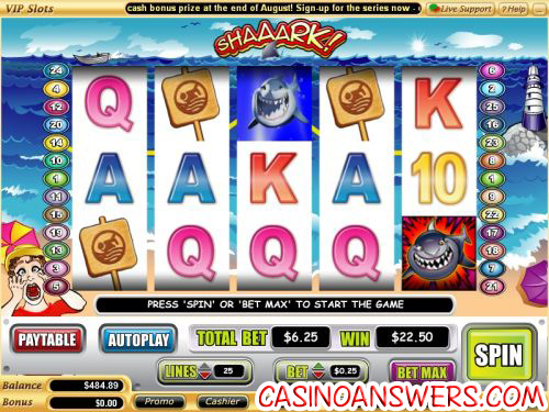 shaaark video slot