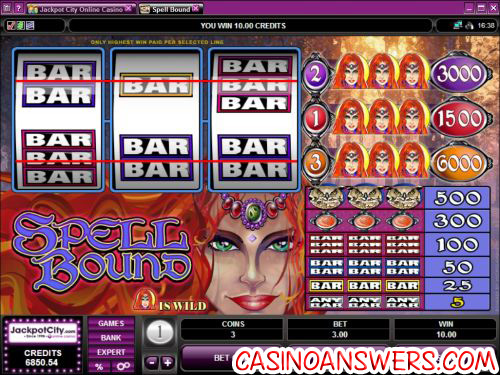 spell bound classic slot