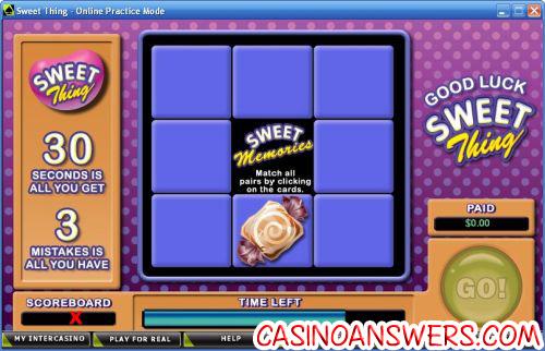 sweet thing casual slot bonus game