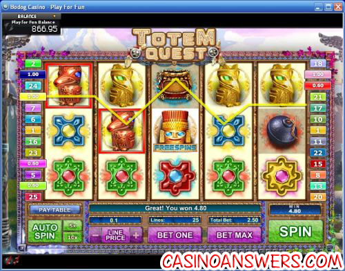 totem quest ctxm video slot