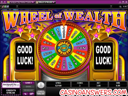 wheel of wealth fortune bonus game
