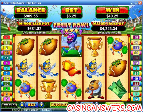 fruit bowl xxv video slot