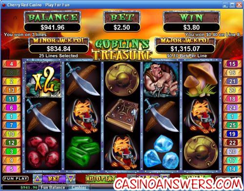 goblins treasure video slot