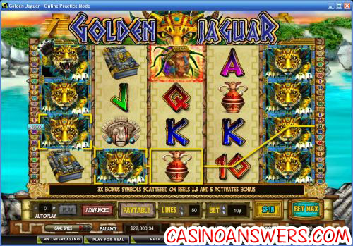 golden jaguar video slot