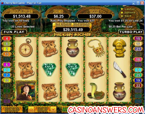 hidden riches rtg slot
