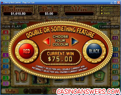 incan goddess video slot bonus game