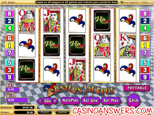 jesters jackpot video slot