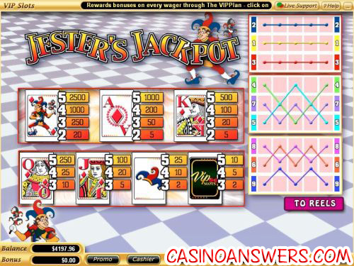 jesters jackpot casino flash game