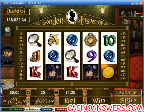 london inspector video slot