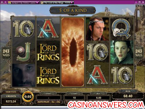 lord of the rings fellowship slot