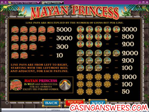 mayan princess flash game