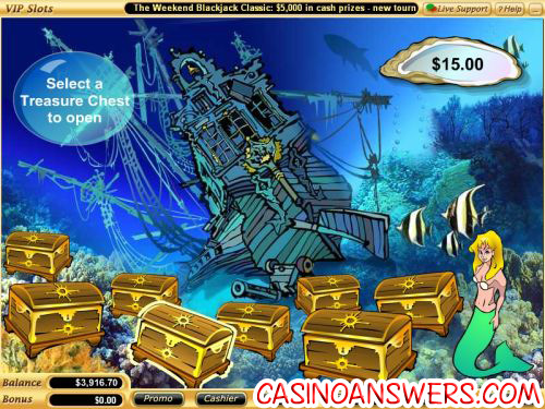 mermaids quest casino game