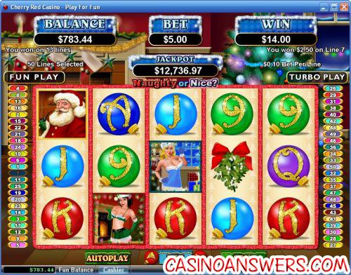 Naughty Santa Slot Machine