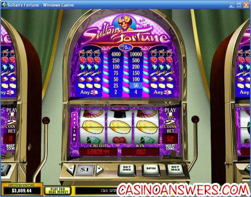 sultans fortune classic slot