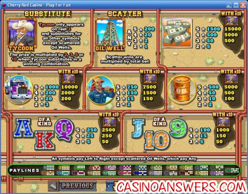 texas casino bonus game