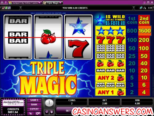 triple magic classic slot