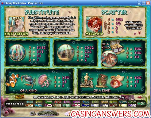 tritons treasure flash game