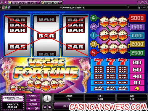 vegas fortune classic slot