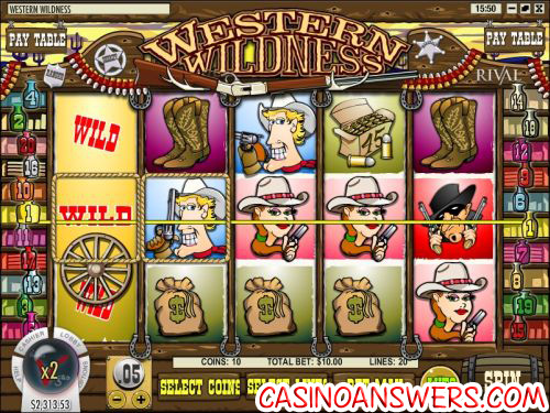 western wildness video slot