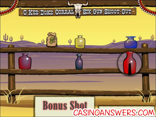 western wildness bonus game